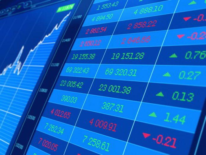 trading giornaliero schermo blu