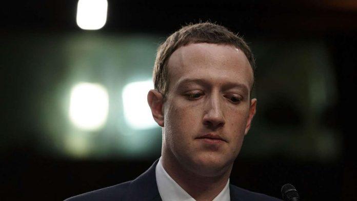 Zuckerberg investitori rischio faccia preoccupata