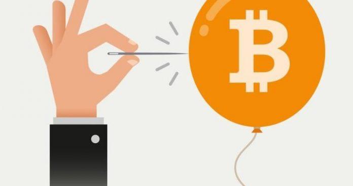 bitcoin immagine bolla speculativa