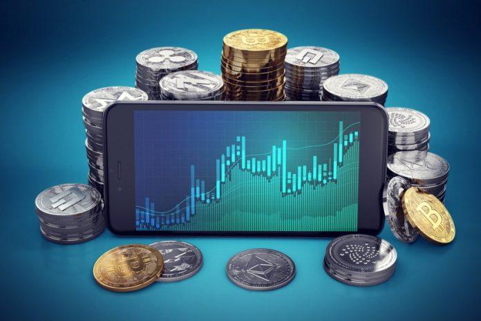 smartphone tra le monete