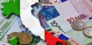 Immagine italia ed euro