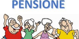 Immagine pensione e pensionati