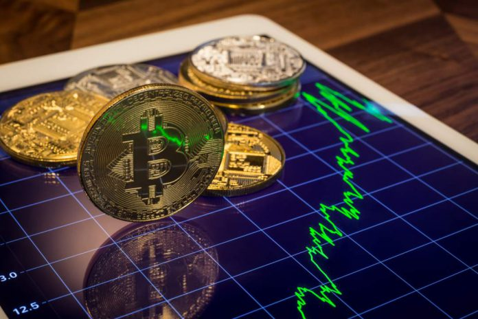 bitcoin in salita grafico