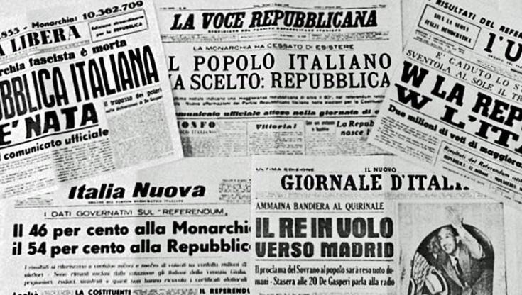 referendum italia repubblica monarchia