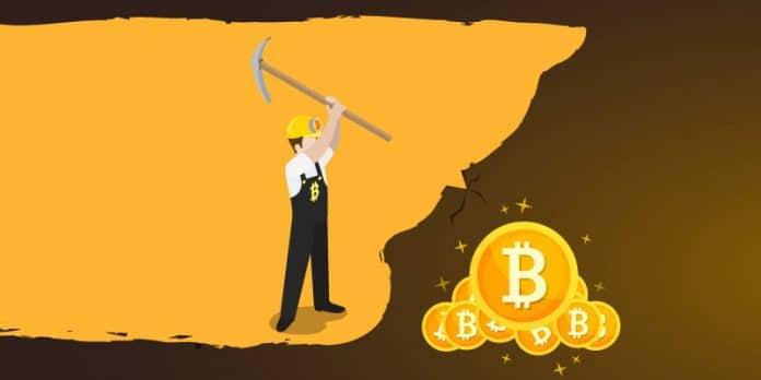 mining di bitcoin