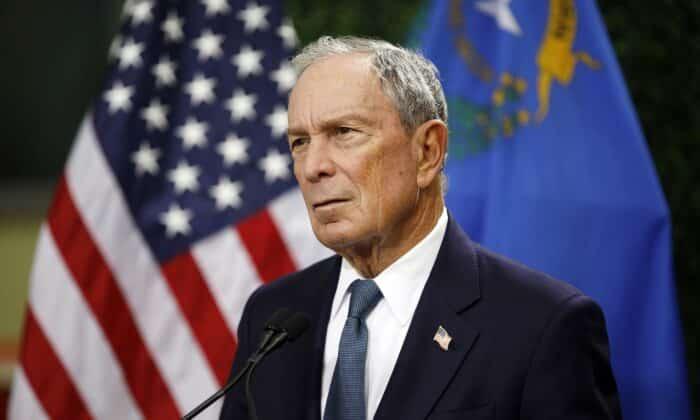 Michael Bloomberg filantropi