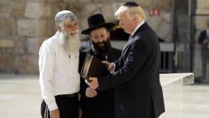 trump ebrei israele
