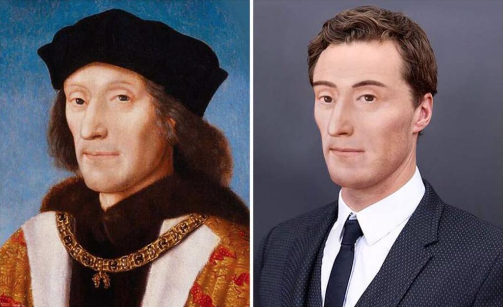 Enrico VII faccia moderna