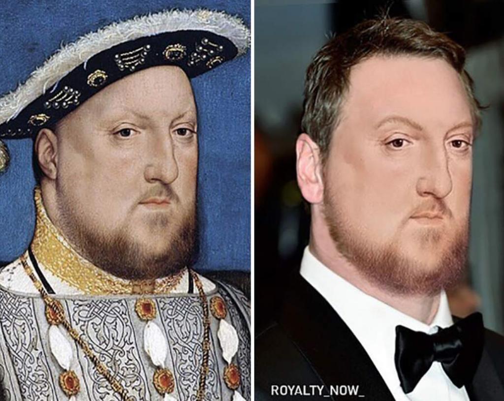 Enrico VIII ricostruzione volto