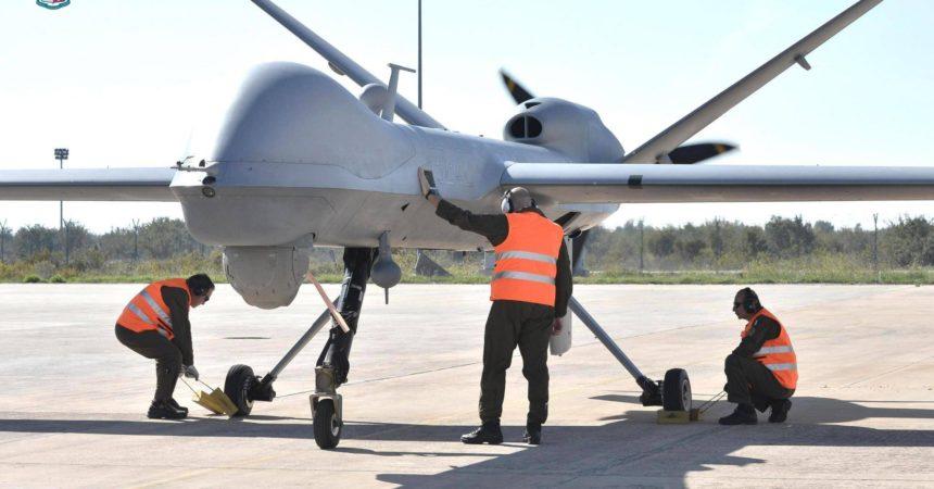 drone militare base