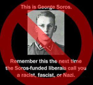 soros nazista foto falsa bufola