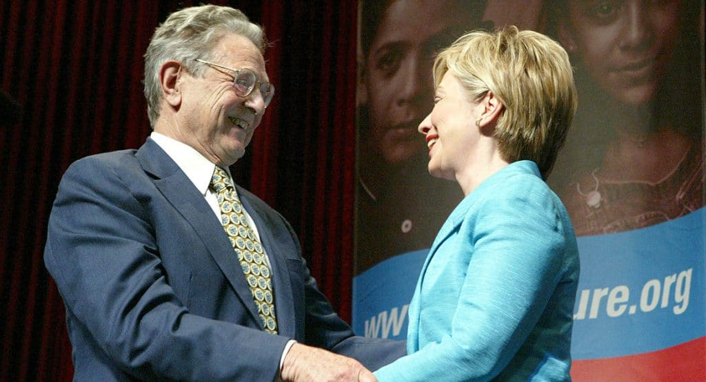 soros obama clinton democratici