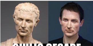 ricostruzione facciale giulio cesare