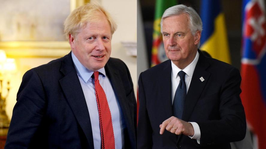 Barnier coronavirus Brexit