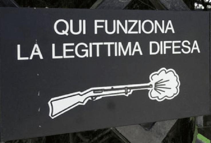 legittima difesa legge