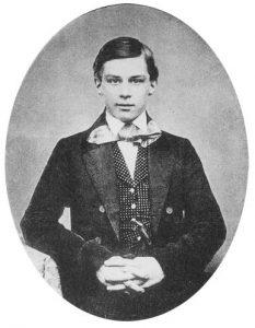 J. P. Morgan giovane