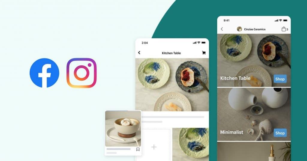 facebook e instagram shops