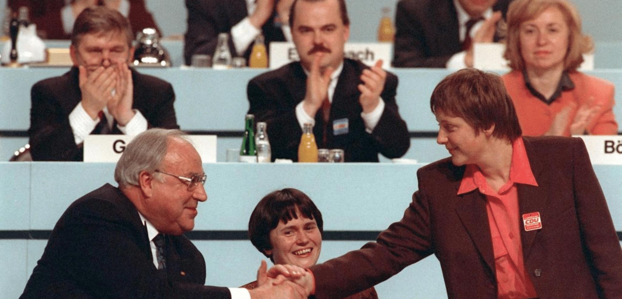 Helmut Kohl Merkel