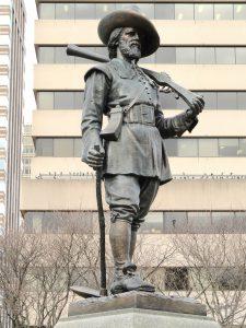 miles morgan statua america