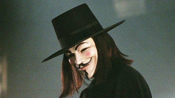 Anonymous maschera guy fawkes