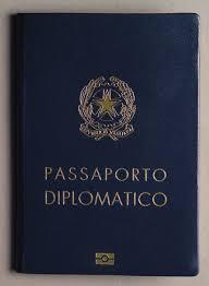 passaporto diplomatico