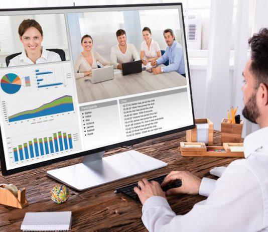 riunioni smart working