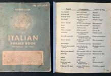 frasario inglese italiano