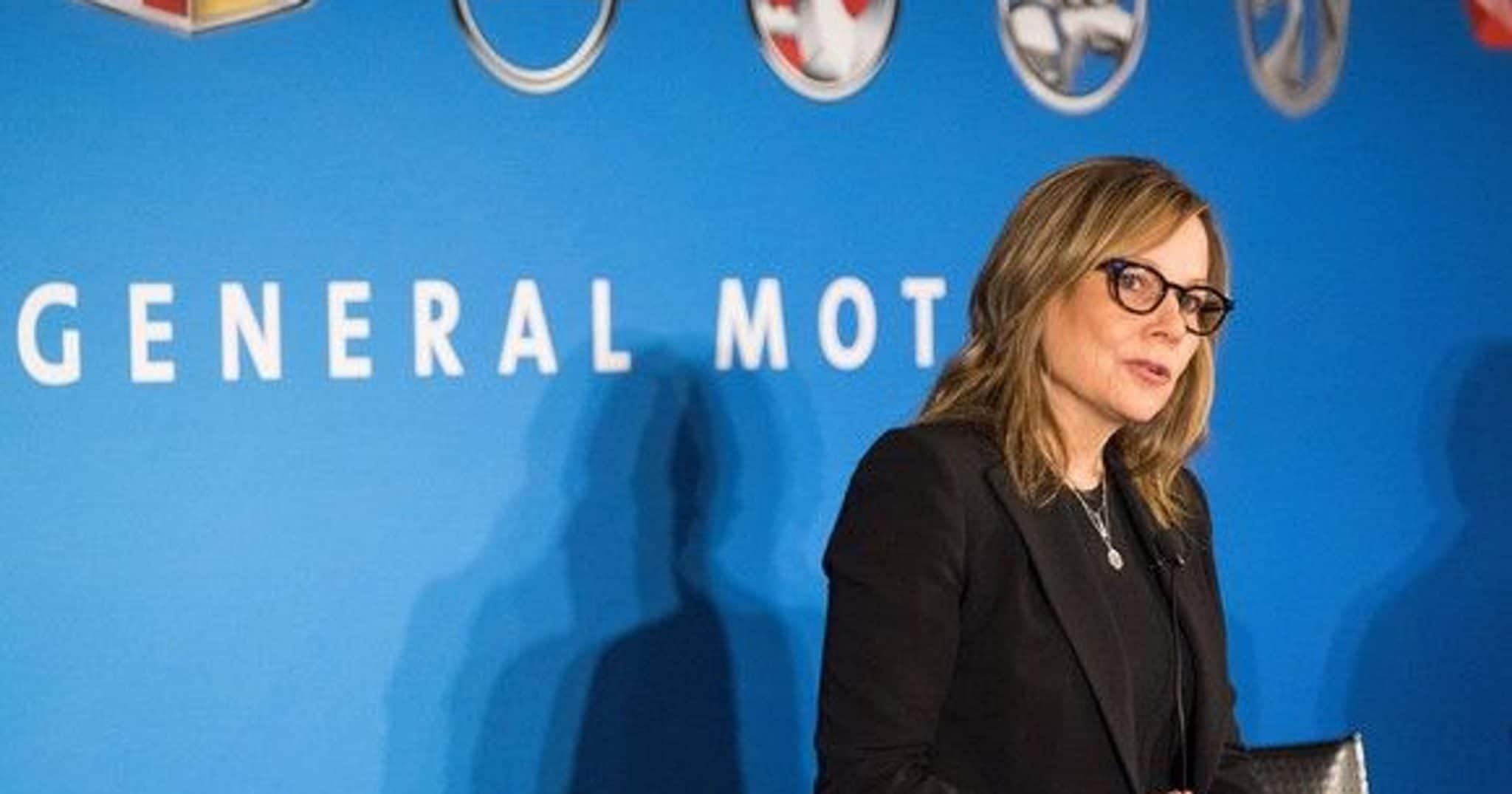 Mary Barra CEO GM