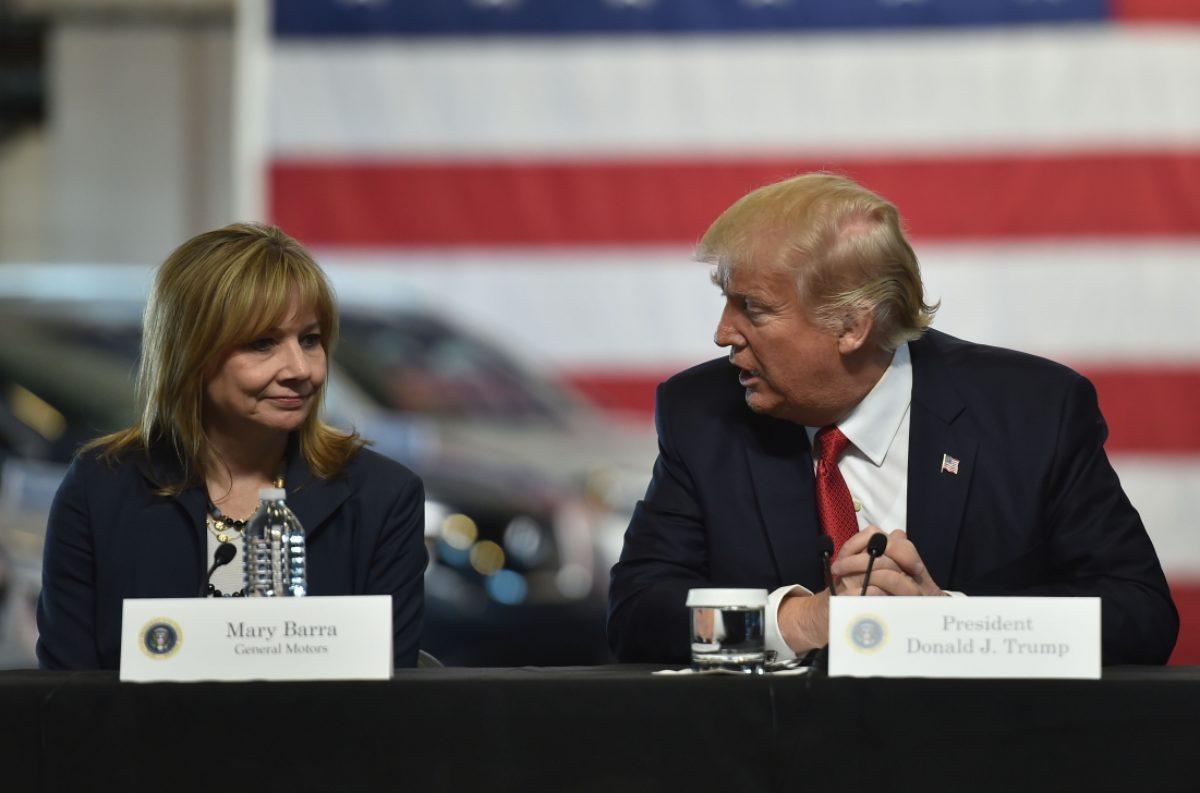 Trump e Barra