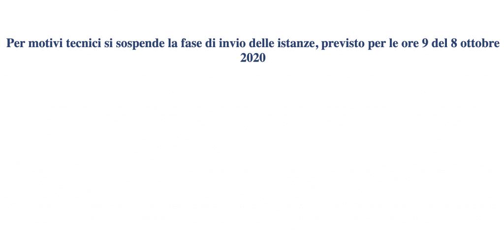 bonus sicilia annullato click day