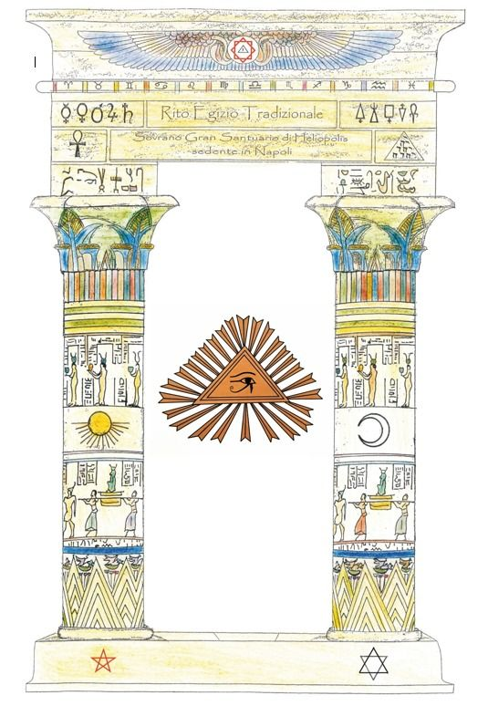 massoneria italiana rito egiziano