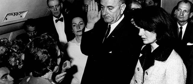 Giuramento Lyndon Johnson