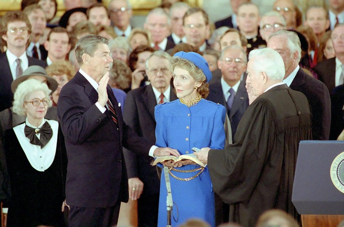 Giuramento Ronald Reagan