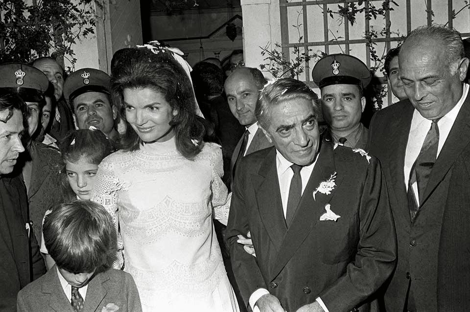 Jacqueline Kennedy sposa Aristotele
