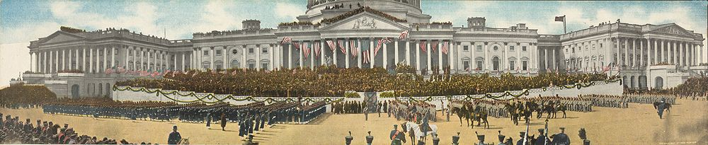 festeggiamenti presidente americano