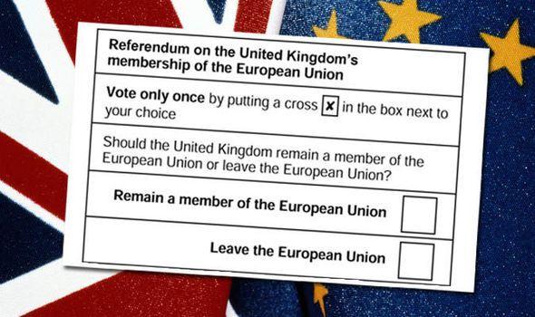 Brexit Scheda Quesito