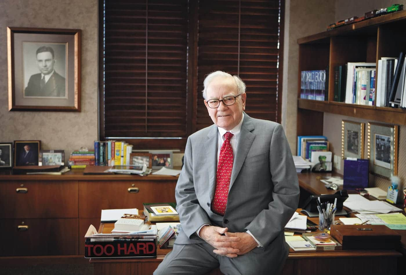 warren buffett office