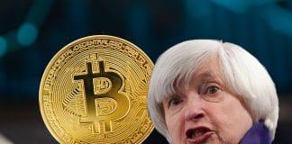 crollo del bitcoin
