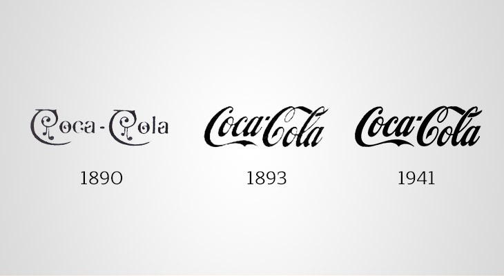 storia logo coca cola