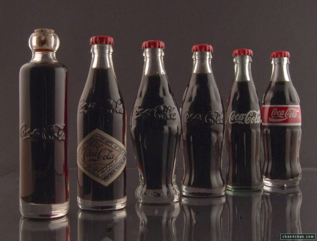 coca cola bottiglie storia