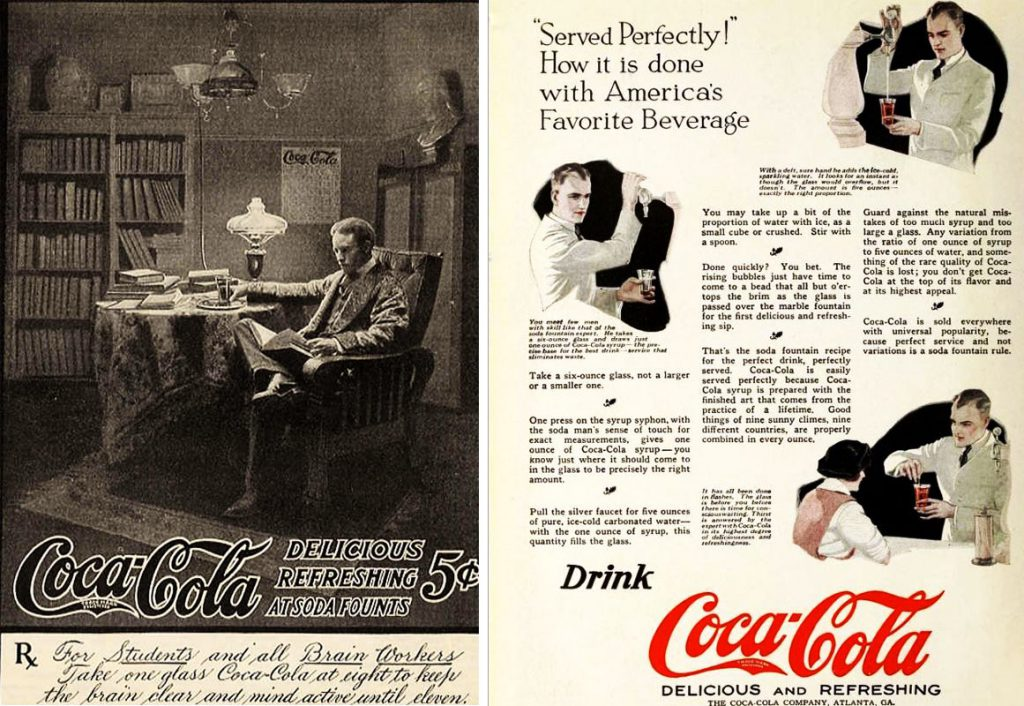 la coca cola contiene cocaina