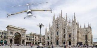taxi volanti a Milano